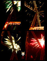 2016_0101 Barry's Fireworks at the Rockville Bridge New Year's Eve Collages