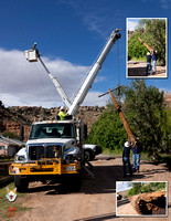 2016_0923 Linemen from Rocky Mountain Power Replace a Power Pole