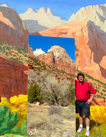 Frank in Zion with Zion Painting 2.jpg