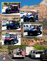 2017_0704 Fourth of July Parade Collages